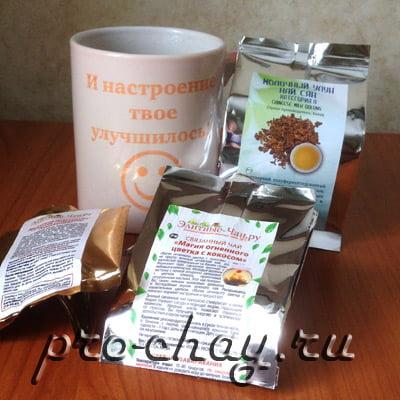 Чай в подарок